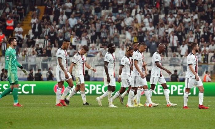 Beşiktaş, Şampiyonlar Ligi'ne kayıpla başladı