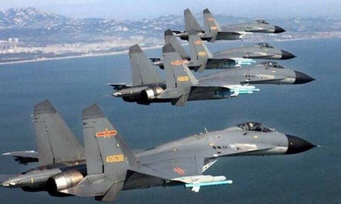 19 jet birden bölgeye girdi! Savaş tehdidi