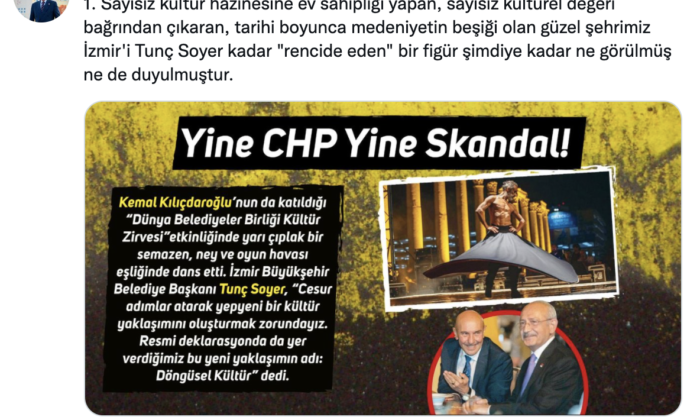CHP'li belediyenin rezaletine MHP'den sert tepki: İlla edep, illa edep!
