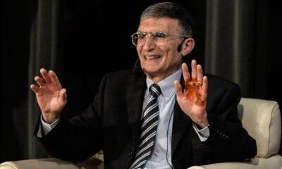 Aziz Sancar'dan gençlere çağrı: Türkiye'ye geri dönün