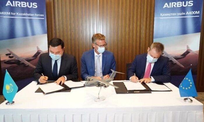 İmzalar atıldı! Kazakistan, Airbus A400M tipi uçak satın alacak
