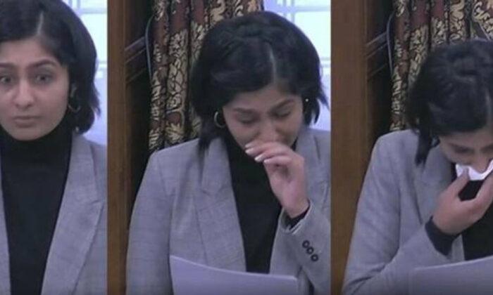 Müslüman milletvekili gözyaşları içinde anlattı: Avrupa sizi kusacak