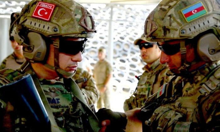 Türkiye ve Azerbaycan askerleri, Laçın ilinde ortak tatbikata başladı.