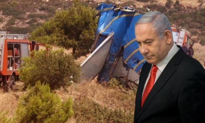 Yunanistan'daki uçak kazasında dikkat çeken Netanyahu detayı