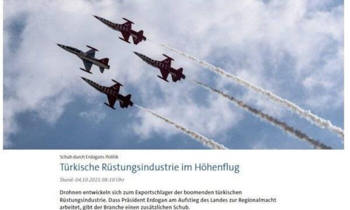 Türk SİHA'larının gücü Alman medyasında! 'Kıskandıracak sistem'