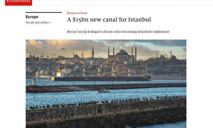 İngilizlerden 'Kanal İstanbul' küstahlığı!