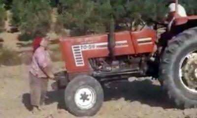 Miras kavgası kan dondurdu! Ablalarının üzerinden traktörle geçtiler