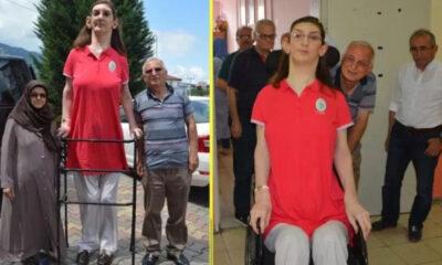 Rümeysa Gelgi, dünyanın en uzun boylu kadını! Guinness Rekorlar Kitabına girdi