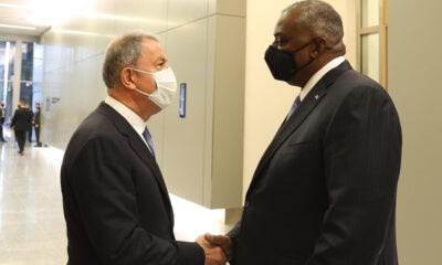 Milli Savunma Bakanı Akar, ABD Savunma Bakanı Austin ile telefonda görüştü