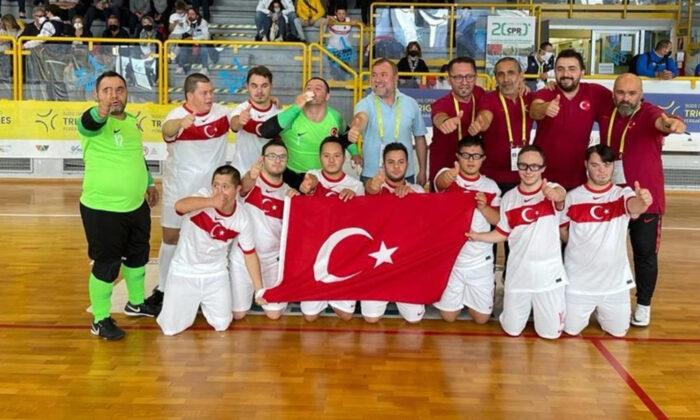 Down Sendromlular Futsal Milli Takımı'mız Avrupa şampiyonu oldu