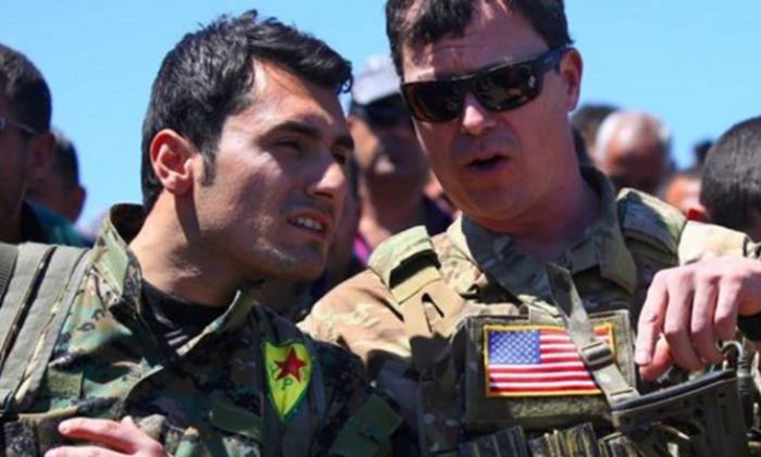 ABD'den PKK/YPG'ye açık destek! Resmen savaş eğitimi veriyor!