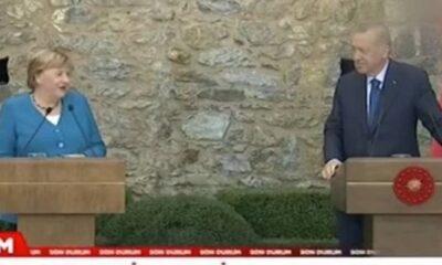 Merkel'in 'koalisyon' sözlerine Cumhurbaşkanı Erdoğan'dan güldüren cevap: Bana şikayet ediyordun