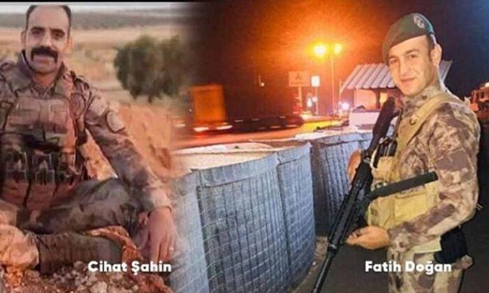 Fırat Kalkanı bölgesinde zırhlı araca saldırı: 2 polisimiz şehit oldu