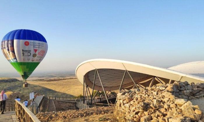 'Tarihin sıfır noktası' Göbeklitepe'de balon uçuşları başladı