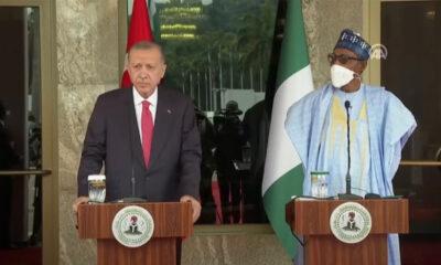 Cumhurbaşkanı Erdoğan: Nijerya ile işbirliğini daha ileri taşımaya kararlıyız