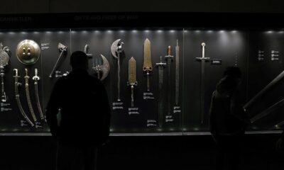 500 yıllık zülfikar kılıcın ömrü uzatılıyor