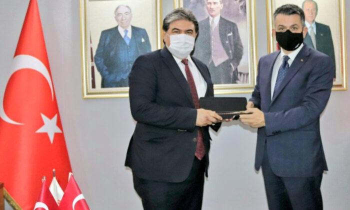 Bakan Pakdemirli ve Sarıeroğlu'ndan MHP Adana İl'e ziyaret…