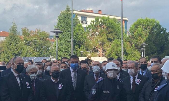 Kazada hayatını yitiren Bartın Belediye Başkan Yardımcısı için tören düzenlendi